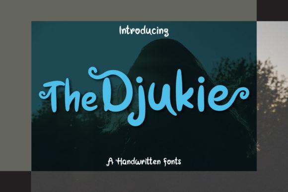 The Djuckie Script Font