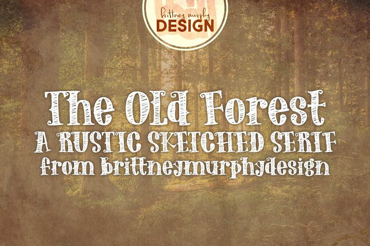 The Old Forest font-1