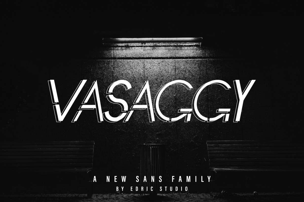 Vasaggy Sans Serif Font-1