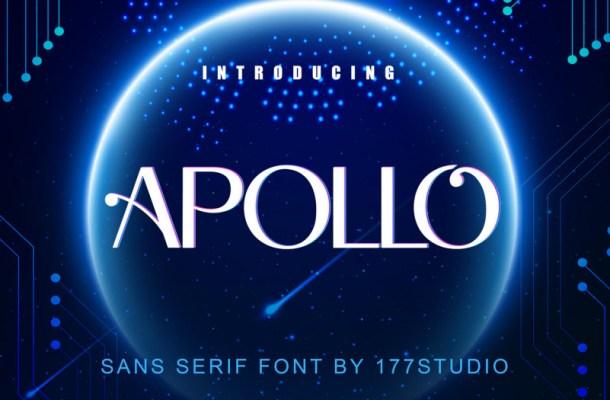 Apollo Sans Serif Font