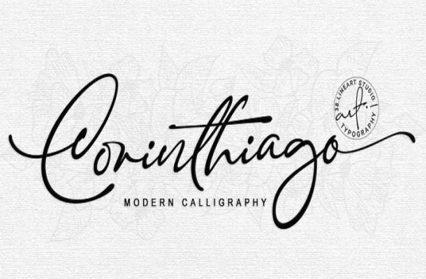 Corinthiago Handwritten Font