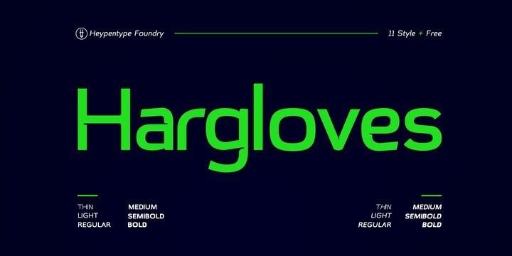 hargloves-font-1