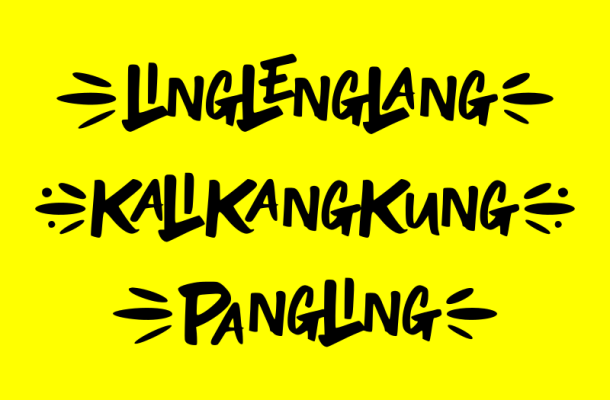 Ling Leng Lang Font