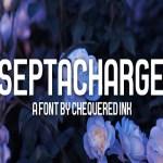 Septacharge Sans Serif Font