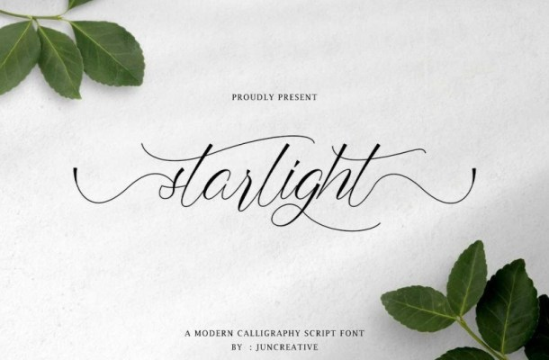 Starlight Modern Calligraphy Font