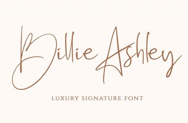 Billie Ashley Font