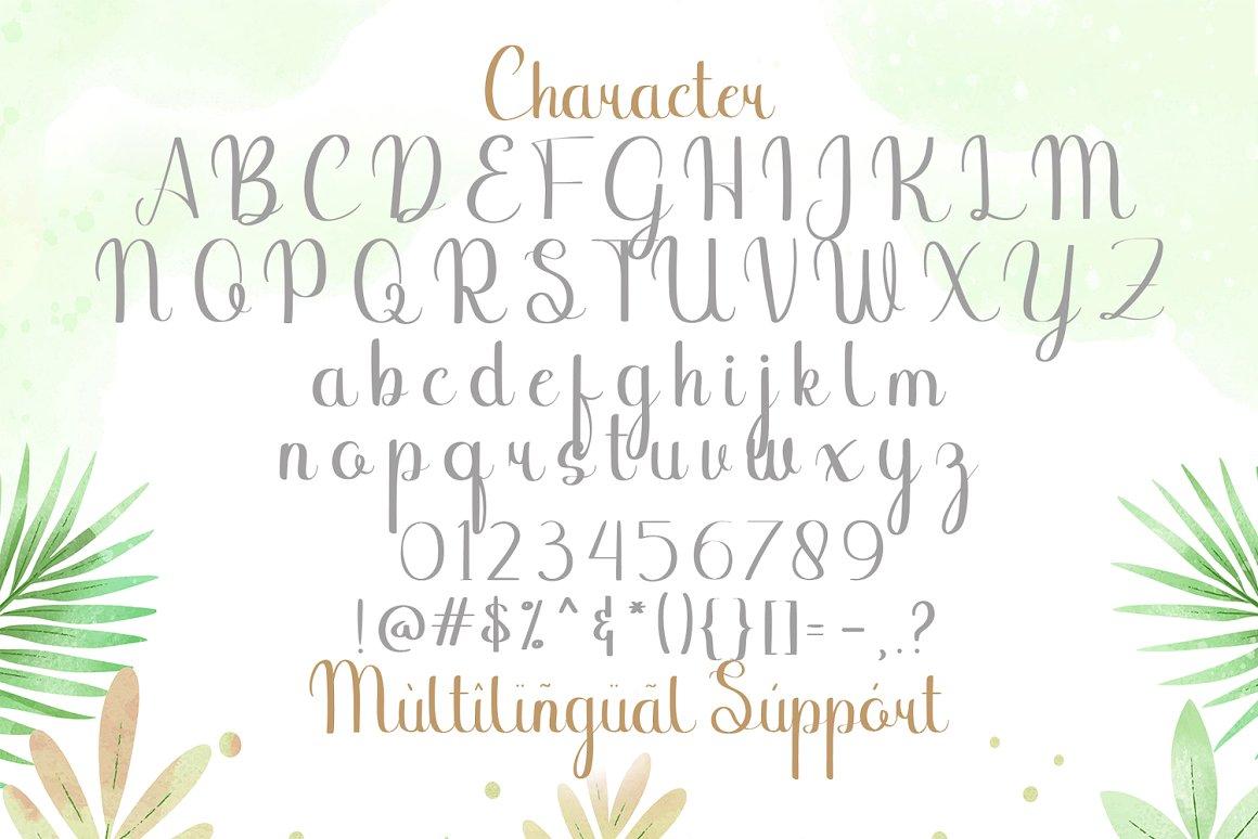 Binttang Selfianto Calligraphy Font-3