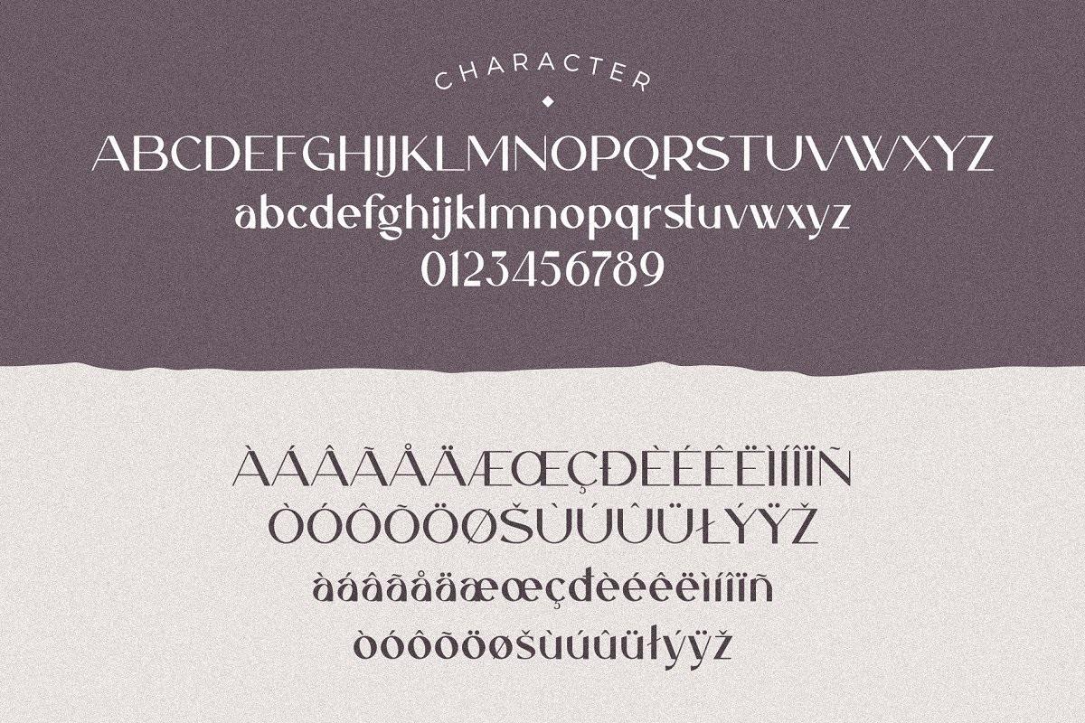 Caligna Modern Sans Serif Typeface-3