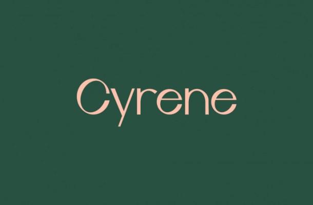 Cyrene Free Sans Serif Font