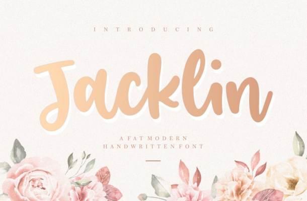Jacklin Modern Handwritten Font