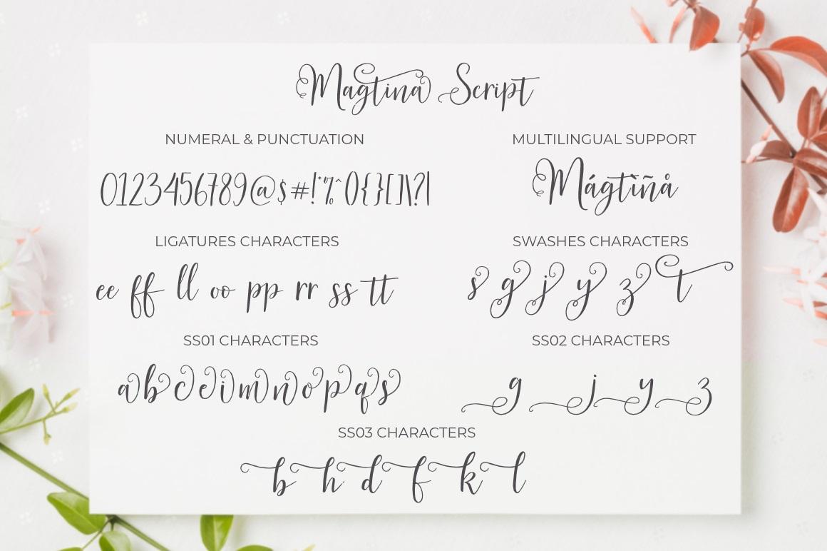 Magtina Calligraphy Script Font-4