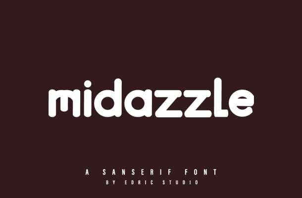 Midazzle Sans Serif Font-1