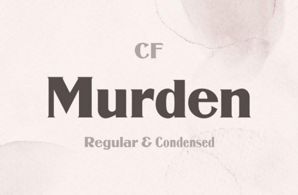 Murden Serif Font-1