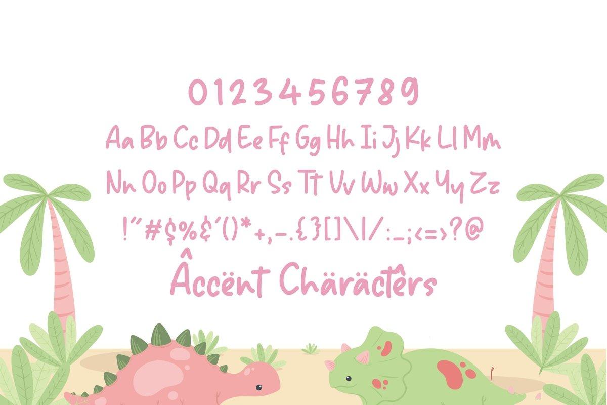 Sparkle Dream Handwritten Script Font-4