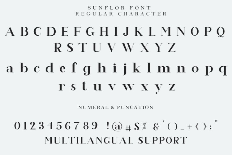 Sunflor Serif Font-3
