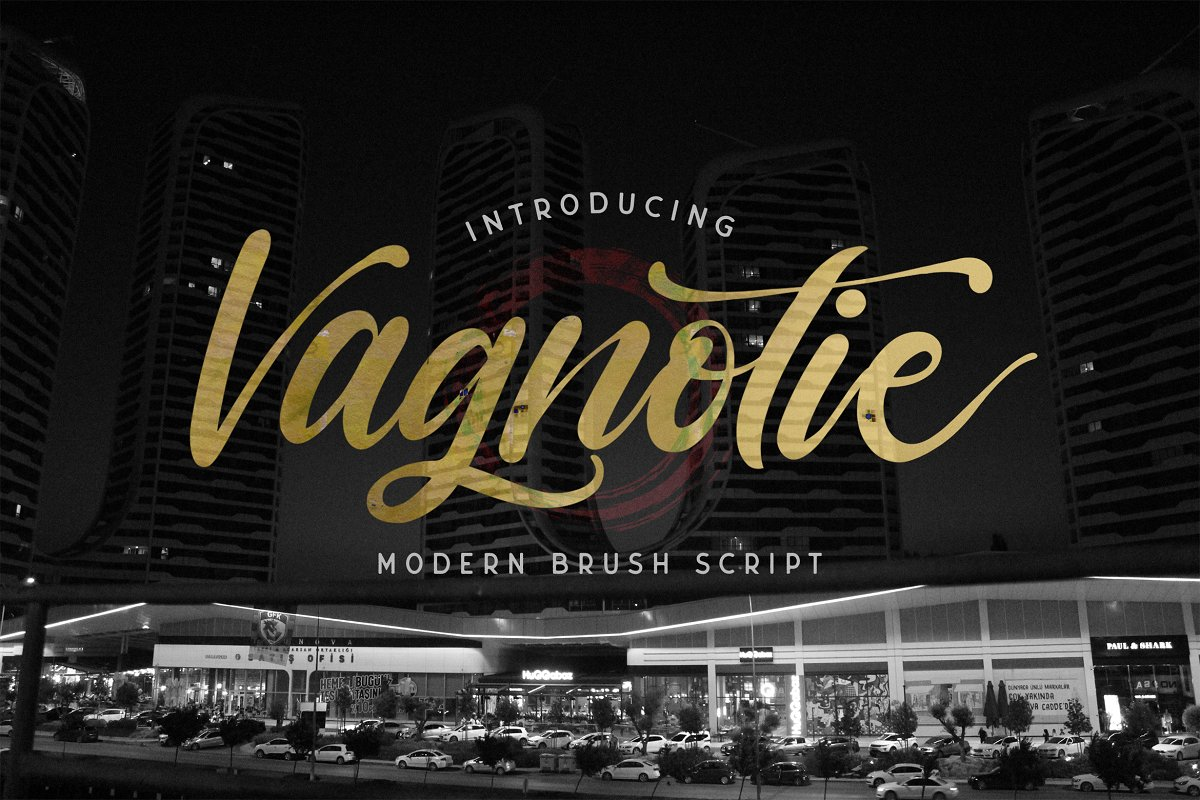 Vagnotie Modern Script Font-1