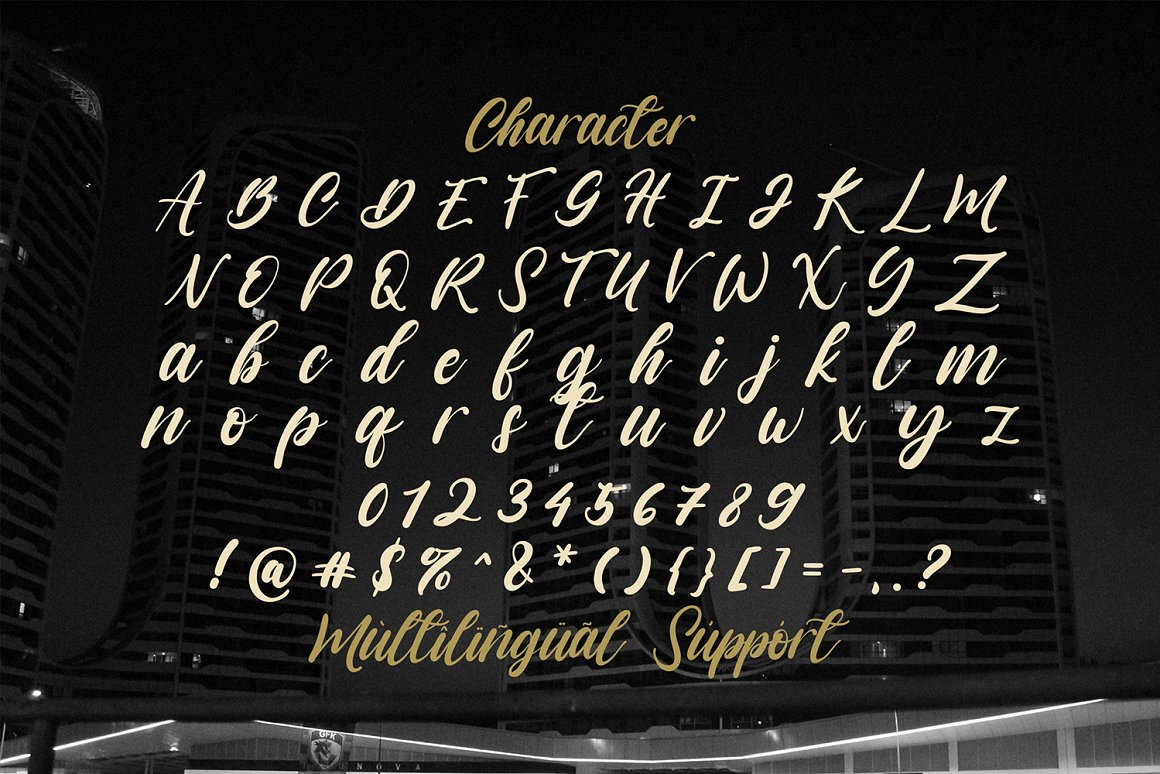Vagnotie Modern Script Font-3