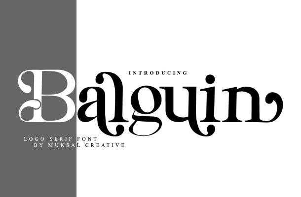 Balguin Font