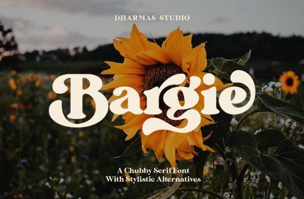 Bargie Serif Font