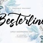Besterline Handwritten Script Font