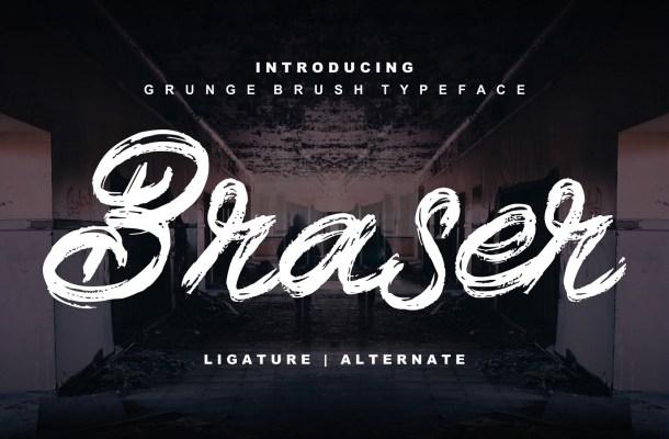 Braser Brush Script Font-1