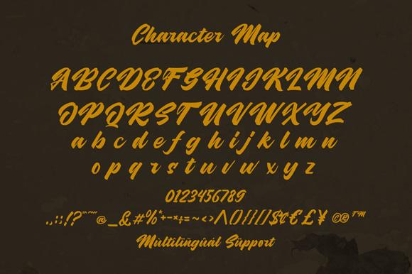 Hubolt Bold Script Font-3