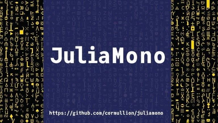 JuliaMono Sans Serif Font Family-1