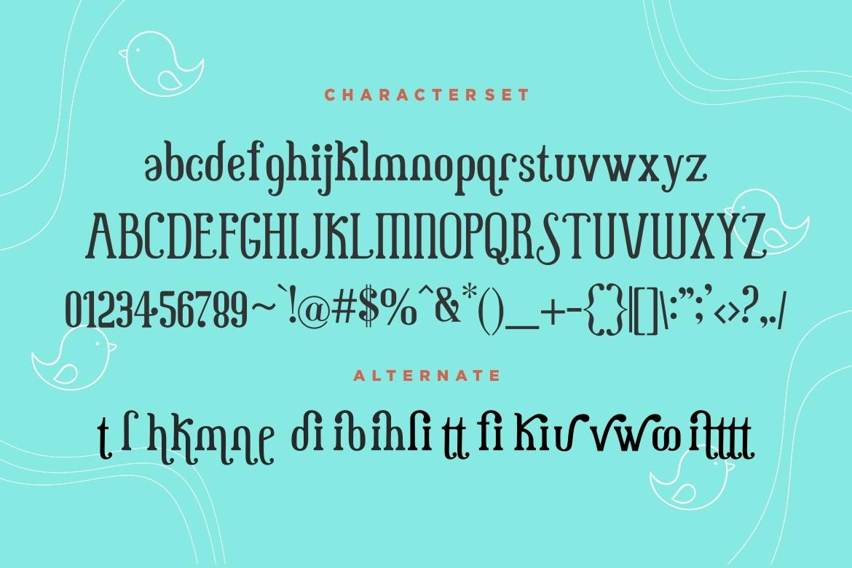 Little Baby Fun Serif Font-3
