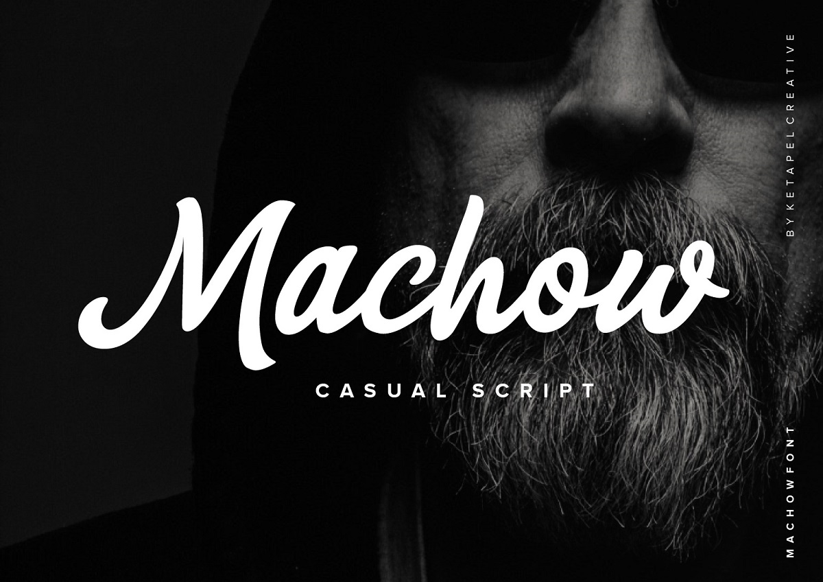 Machow Bold Script Font-1