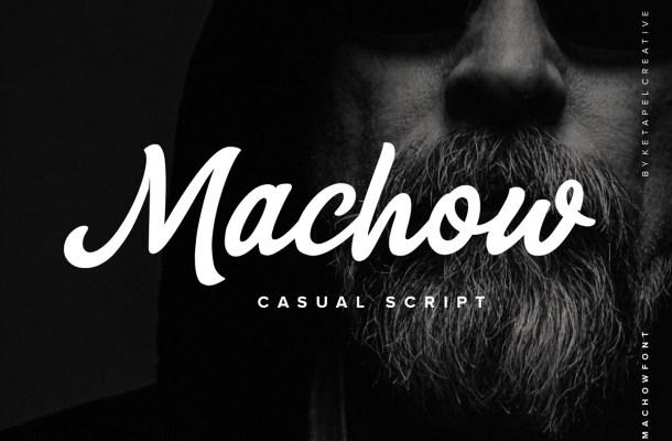 Machow Font