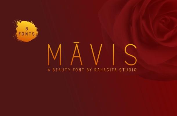 Mavis Sans Serif Font
