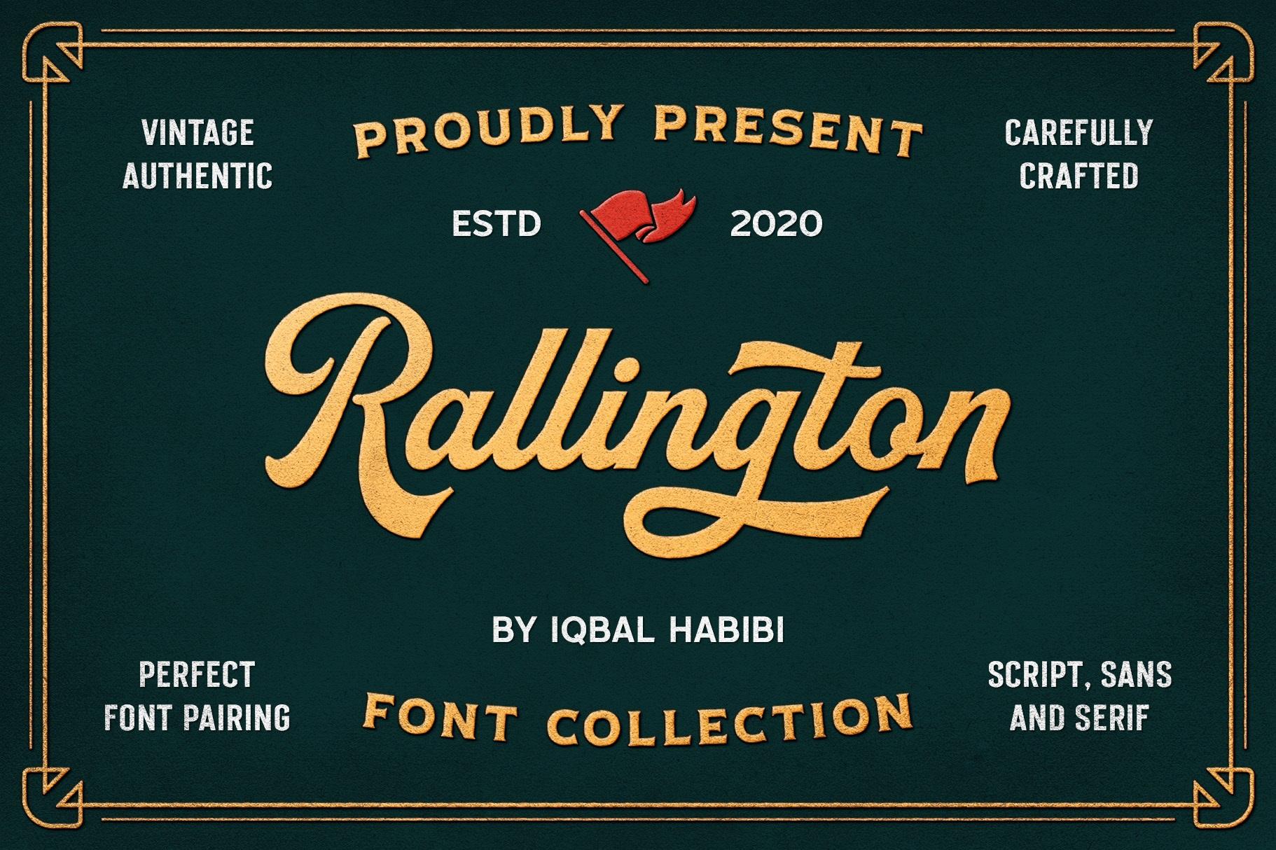 Rallington Script Font-1