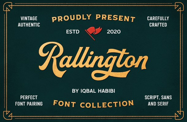 Rallington Script Font