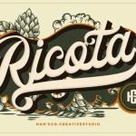 Ricota Casual Script Typeface