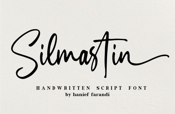 Silmastin Handwritten Script Font-1