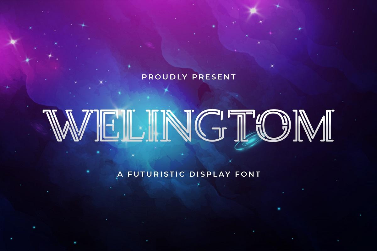 Welingtom Display Font-1