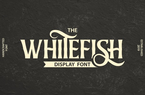 Whitefish Serif Display Font