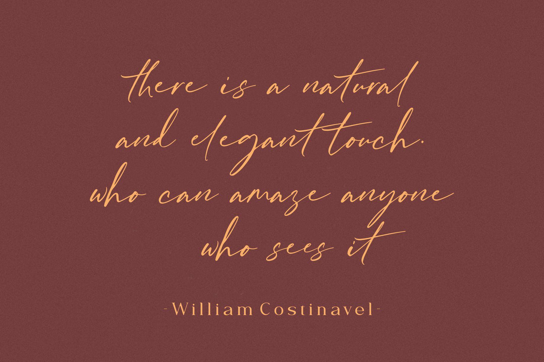 William Costinavel Handwritten Script Font-2