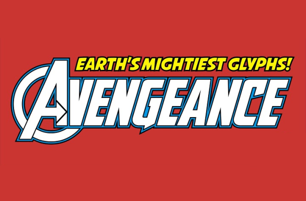avengers font4