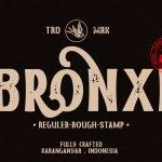 Bronxi Vintage Sans Font Family