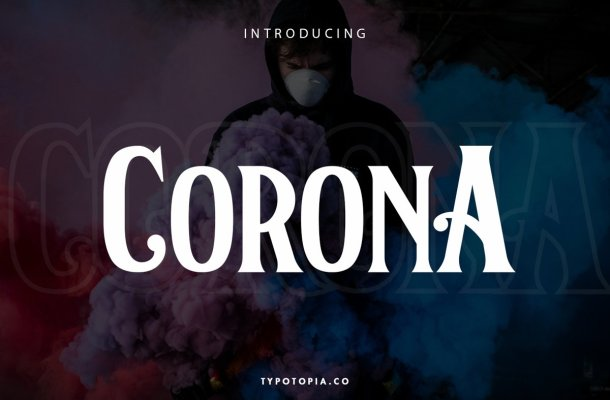 Corona Serif Display Font