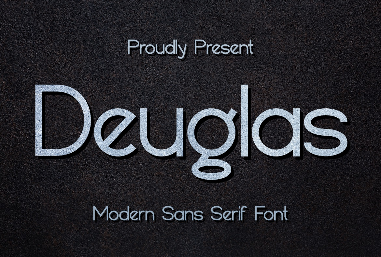 Deuglas Modern Sans Serif Font-1
