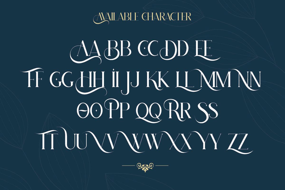 Hatolie Display Serif Typeface-3