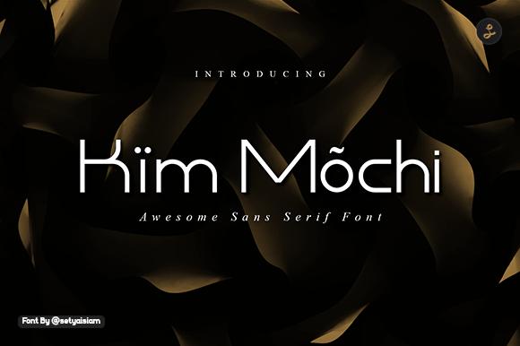 Kim Mochi Sans Display Font-1