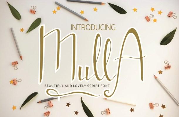 Mulla Handwritten Script Font