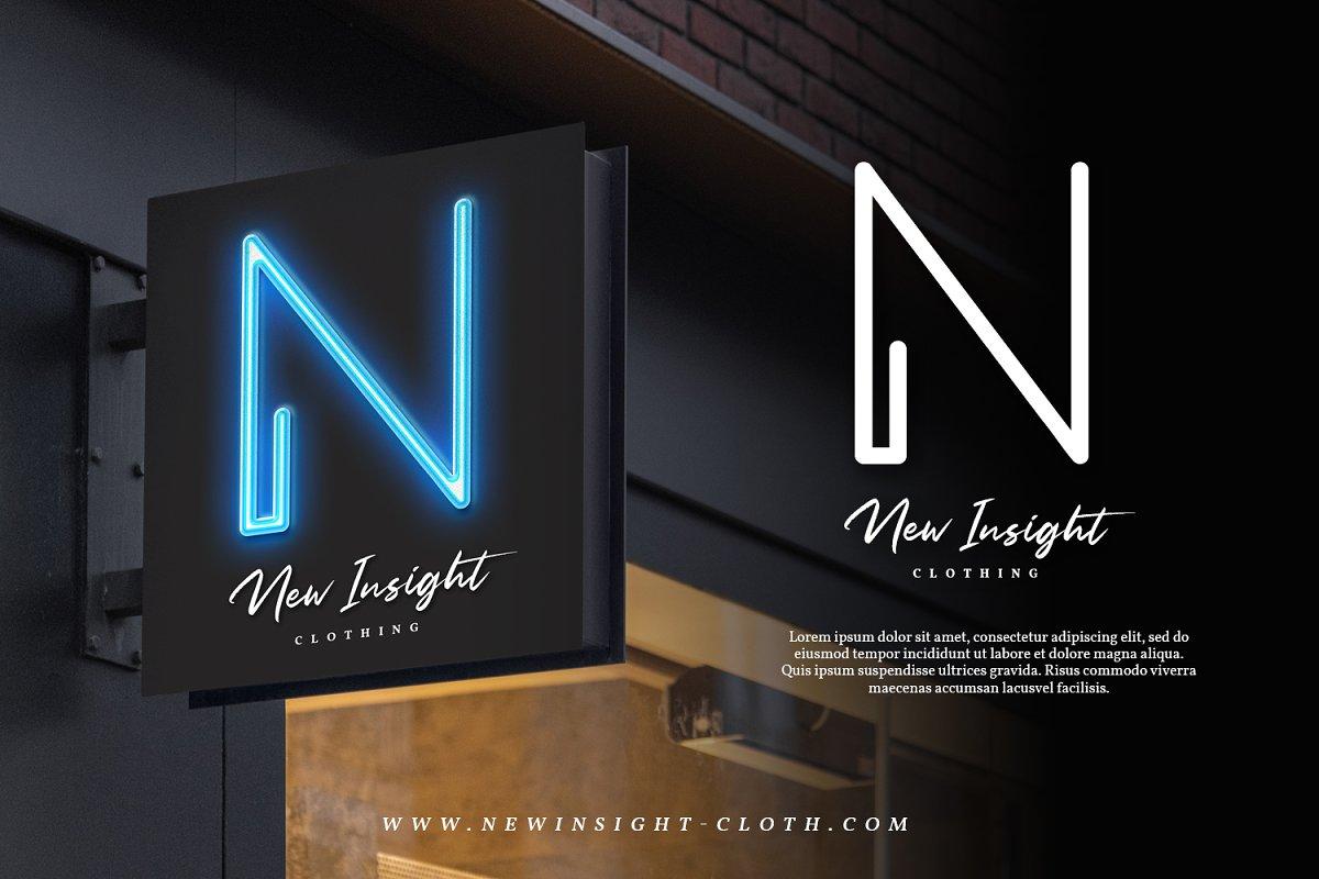 Neon Planet Display Typeface-2