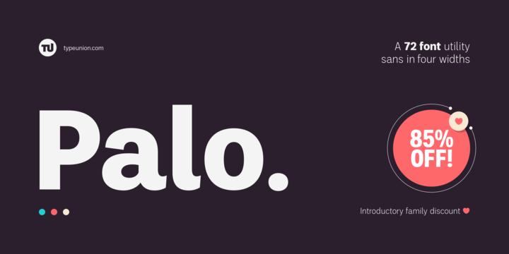 Palo Sans Serif Typeface-1
