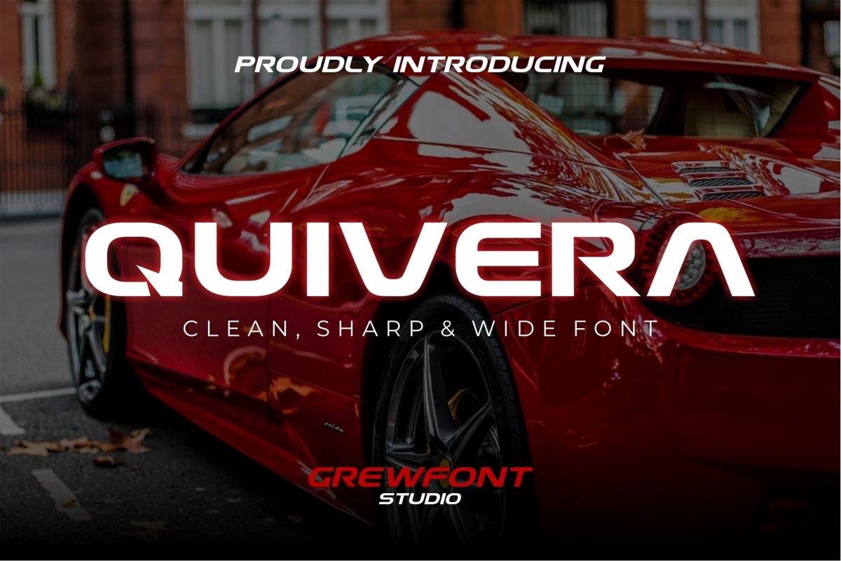 Quivera Modern Display Font