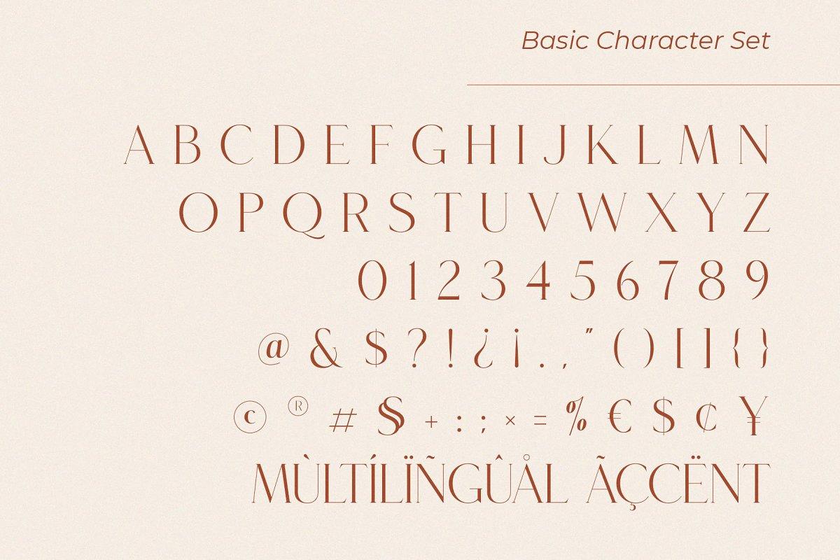 Roseritta Ligature Serif Typeface-3