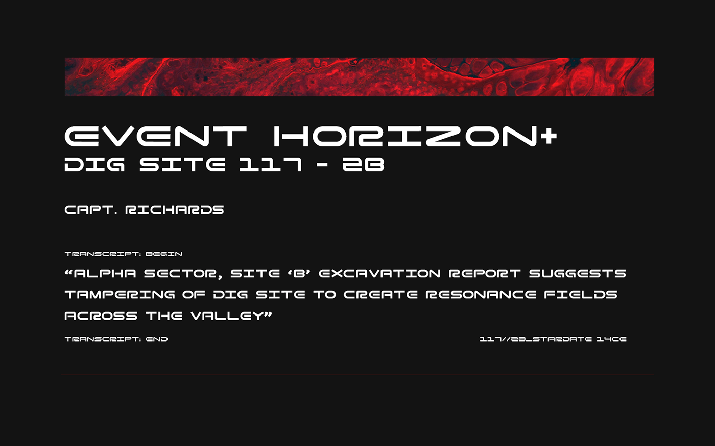 Zero G Display Font-3